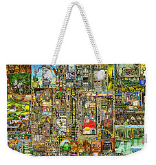 Our Town Weekender Tote Bag by Colin Thompson