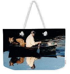 Out For A Boat Ride Weekender Tote Bag