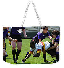Weekender Tote Bag featuring the photograph Out Numbered by Mike Martin