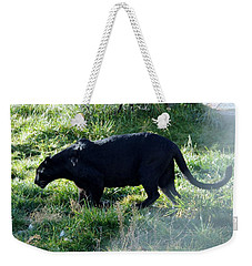 Out Of Africa  Black Panther Weekender Tote Bag