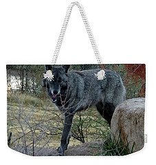 Out Of Africa Black Wolf Weekender Tote Bag