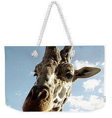 Out Of Africa  Reticulated Giraffe Weekender Tote Bag
