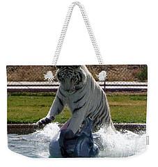 Out Of Africa Tiger Splash 1 Weekender Tote Bag