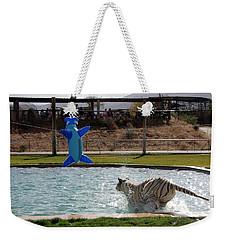 Out Of Africa Tiger Splash 3 Weekender Tote Bag