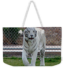 Out Of Africa White Tiger Weekender Tote Bag