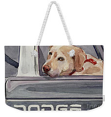 Out Of Dodge Weekender Tote Bag