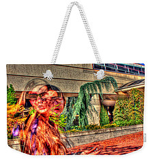 Out Of Phase 2 Weekender Tote Bag by Andy Lawless