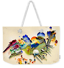 Out Of The Sea - Abstract Weekender Tote Bag