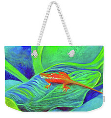 Outer Banks Gecko Weekender Tote Bag