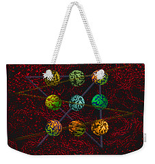 Outside The Box Weekender Tote Bag