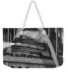 Over And Under Weekender Tote Bag