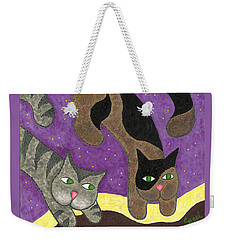 Over Cover Cats Weekender Tote Bag