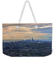 Over East New York Weekender Tote Bag
