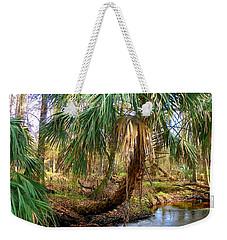 Over The Creek Weekender Tote Bag