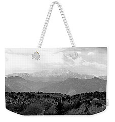 Over The Hills To Pikes Peak Weekender Tote Bag