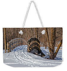 Over The River And Through The Woods Weekender Tote Bag by Susan  McMenamin