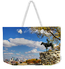 Overlooking Kansas City Weekender Tote Bag