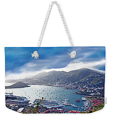 Overlooking The Bay Weekender Tote Bag by Aimee L Maher Photography and Art Visit ALMGallerydotcom