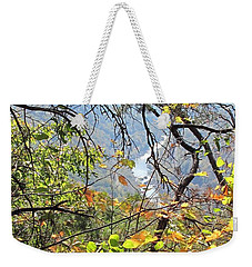 Overlooking The Gorge Weekender Tote Bag
