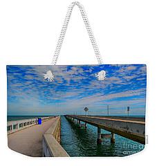 Overseas Highway Florida Keys Weekender Tote Bag