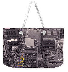 Overwhelm Me New York  Weekender Tote Bag