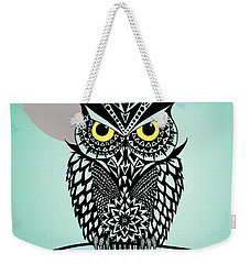 Owl 5 Weekender Tote Bag by Mark Ashkenazi