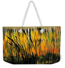 Weekender Tote Bag featuring the photograph Owl Creek Pass Fall 3 by Susan Rovira