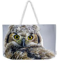 Owlet Close-up Weekender Tote Bag