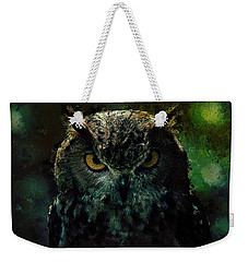 Owlish Tendencies Weekender Tote Bag