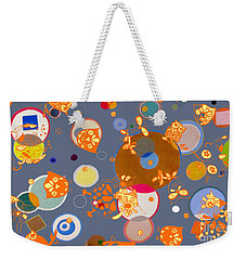 Owls Hangin Around Weekender Tote Bag by Beth Saffer