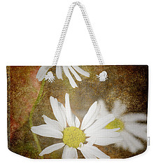 Ox Eye Dasies Weekender Tote Bag by Lynn Bolt