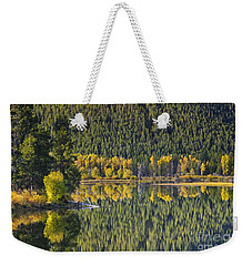 Oxbow Abstract Weekender Tote Bag