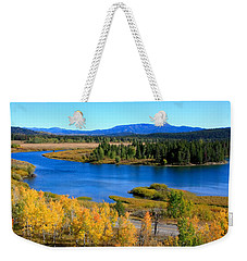 Oxbow Bend, Grand Teton National Park Weekender Tote Bag