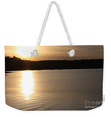 Oyster Bay Sunset Weekender Tote Bag by John Telfer