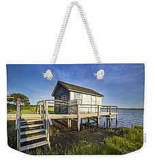 Oysterponds Creek Orient Ny Weekender Tote Bag