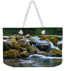 Ozark Waterfall Weekender Tote Bag by Steve Stuller