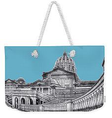 Pa Capitol Building Weekender Tote Bag