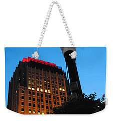 Pa Power Light And Allentown Symbol Weekender Tote Bag