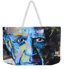 Weekender Tote Bag featuring the painting Pablo Picasso by Richard Day
