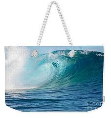 Pacific Big Wave Crashing Weekender Tote Bag