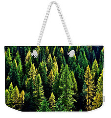 Weekender Tote Bag featuring the photograph Pacific Northwest Autumn by Benjamin Yeager