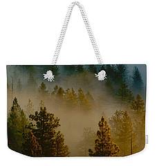 Pacific Northwest Morning Mist Weekender Tote Bag