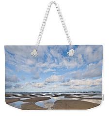 Pacific Ocean Beach At Low Tide Weekender Tote Bag