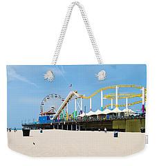 Pacific Park, Santa Monica Pier, Santa Weekender Tote Bag