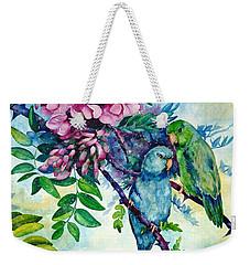 Pacific Parrotlets Weekender Tote Bag