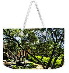 Pacifica Courtyard Weekender Tote Bag by Danuta Bennett