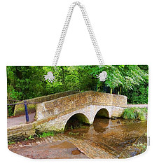 Pack Horse Bridge Weekender Tote Bag
