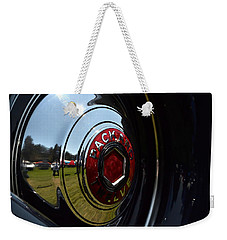 Weekender Tote Bag featuring the photograph Packard - 2 by Dean Ferreira