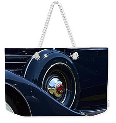 Weekender Tote Bag featuring the photograph Packard - 1 by Dean Ferreira