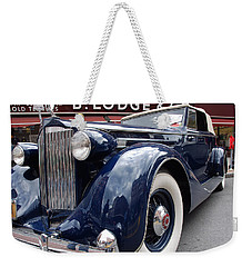 Packard 1207 Convertible 1935 Weekender Tote Bag by John Schneider